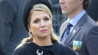 La reina de Holanda llegó a Buenos Aires.