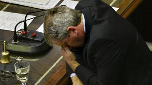 Voto clave. El presidente de la Cámara de Diputados sabe que su decisión será decisivo en caso de empate.