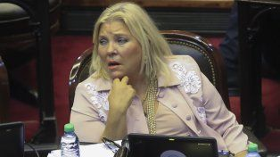 Carrio elogió la decisión que tomó Sturzenegger de renunciar