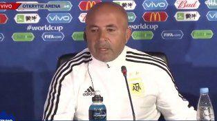 Sampaoli confirmó a Biglia y Mascherano como doble cinco y al Kun Agüero como único punta