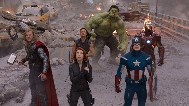 La primera película de Los Vengadores (The Avengers