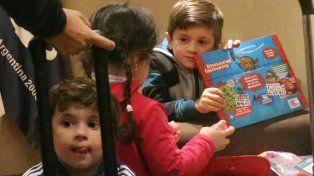 Antonella y sus tres hijos viajan a Rusia para acompañar a Lionel Messi