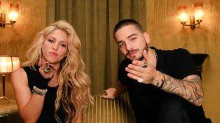 Shakira y Maluma salieron a bancar al equipo de Pekerman