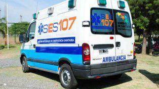 La nena fue derivada del hospital Alberdi al Vilela por personal del Sies.