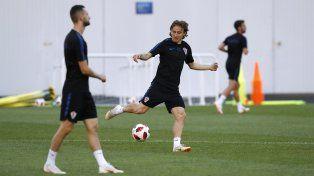 Modric es el conductor de una sólida selección croata.