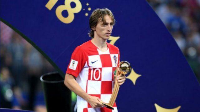 El croata Luka Modric el mejor jugador del Mundial, según FIFA