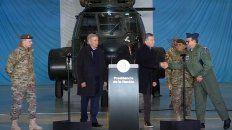 macri pondra a los militares a colaborar con la seguridad interior