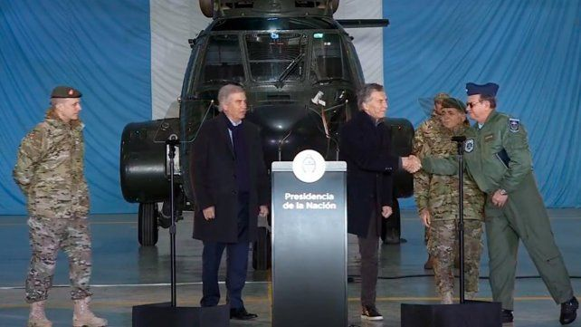 Macri pondrá a los militares a colaborar con la seguridad interior