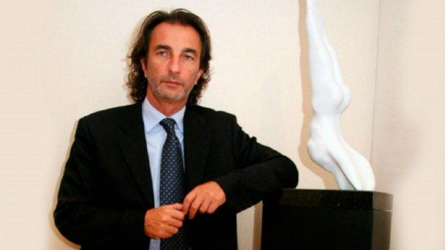 Angelo Calcaterra se presentó en Tribunales para colaborar en la causa