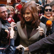 La expresidenta estuvo cara a cara con Bonadio.