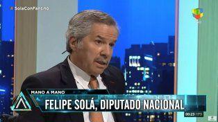 Felipe Solá cuestionó la destrucción del trabajo del gobierno y se postuló como presidenciable