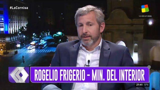 Frigerio: Macri ahora tiene que probar que es el mejor piloto de tormenta