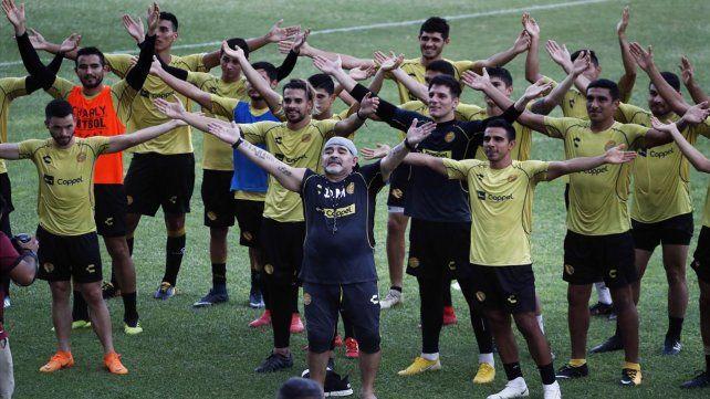 Dorados de Sinaloa, la nueva casa de Maradona
