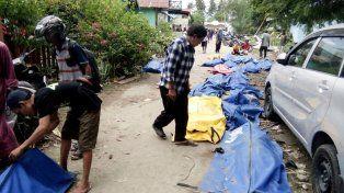 Las dramáticas imágenes del terremoto y el tsunami en Indonesia