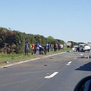 El siniestro fatal ocurrió en el kilómetro 37 de la autopista.