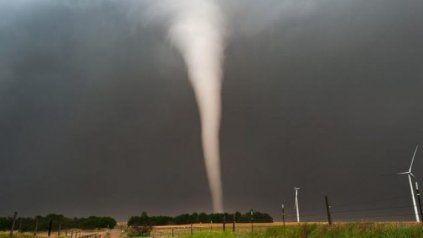 Un tornado azotó en el norte de Santa Fe