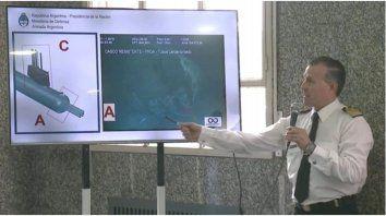 las primeras imagenes del submarino ara san juan en el fondo del mar