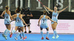 Las Leonas vencieron a Gran Bretaña y jugarán por el tercer puesto ante China