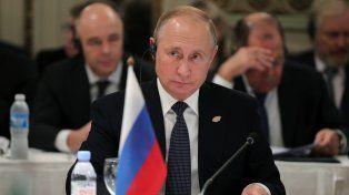 Trump y Putin hablaron brevemente durante la Cumbre del G20