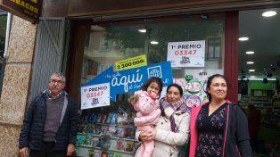 Dos argentinas ganaron 800 mil euros en el Gordo navideño de España