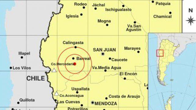 Un temblor sacudió la provincia de San Juan y se sintió en Mendoza