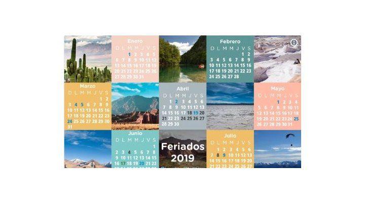 El gobierno oficializó la grilla de los feriados para 2019
