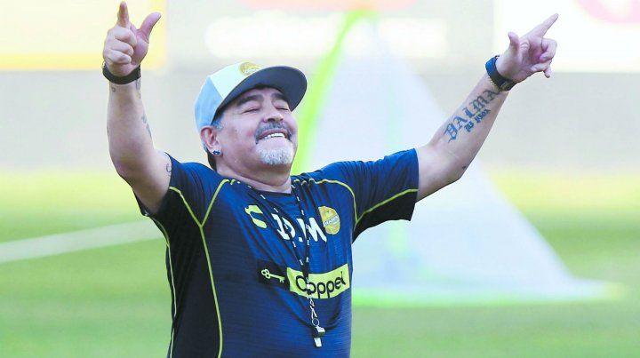 Diego hizo aclaraciones sobre su salud.