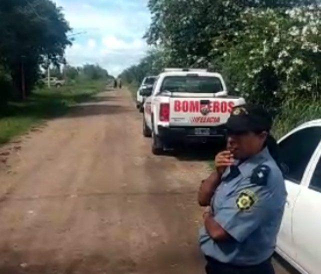 El cadáver fue hallado a 500 metros al este de la Ruta Provincial 6