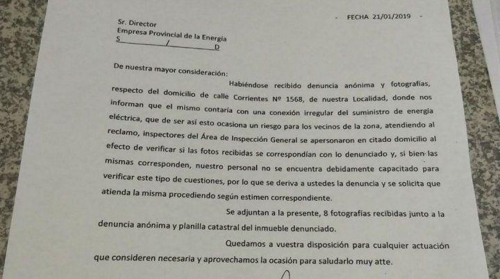 El informe realizado por el municipio baigorriense.