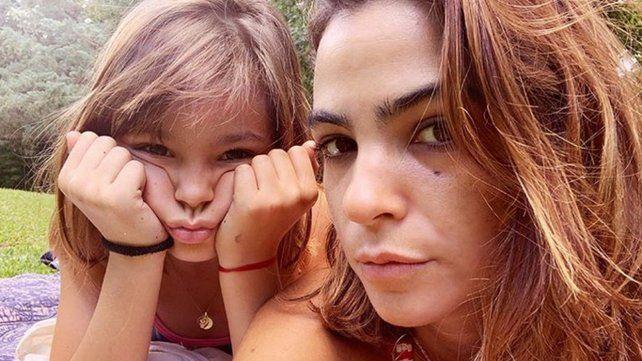 Agustina Cherri mostró el parecido de su hija Muna con Mili de Chiquititas copy