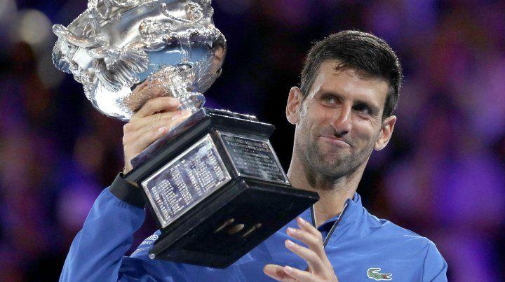 Djokovic se impuso a Nadal y se quedó con el Abierto de Australia
