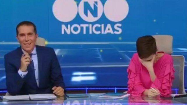Cristina Pérez y Rodolfo Barili respondieron, en vivo, si pasa algo entre ellos