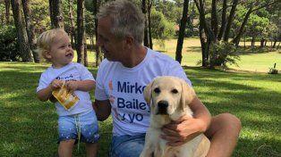 Marley admitió su deseo de darle una hermanita a Mirko con la misma donante