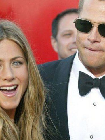 Brad Pitt fue al festejo de cumpleaños de Jennifer Aniston