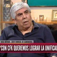 Moyano dijo que votaría a Cristina en caso de que sea candidata