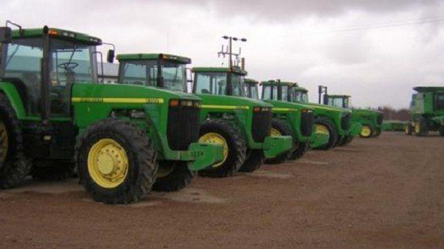 El segmento de maquinaria e implementos agrícolas continúa con niveles muy bajos de producción.