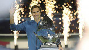 Roger Federer alcanzó los 100 títulos en su carrera