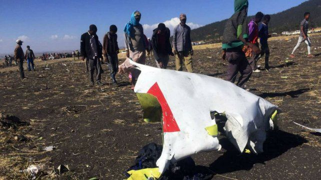Un avión se estrelló en Etiopía tras el despegue y no hay sobrevivientes