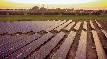 Un argumento para la sede. La inauguración de la planta fotovoltaica.
