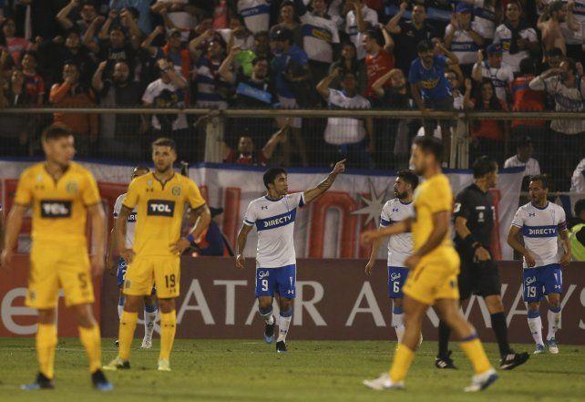 Central jugó mal y perdió ante Católica en Chile