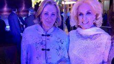 mirtha legrand fue la invitada de honor a la gala con los reyes de espana