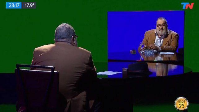 Lanata volvió a la televisión con una entrevista a sí mismo copy