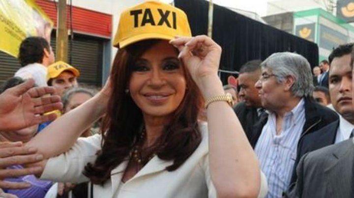 Taxistas formaron un grupo con pasajeros kirchneristas