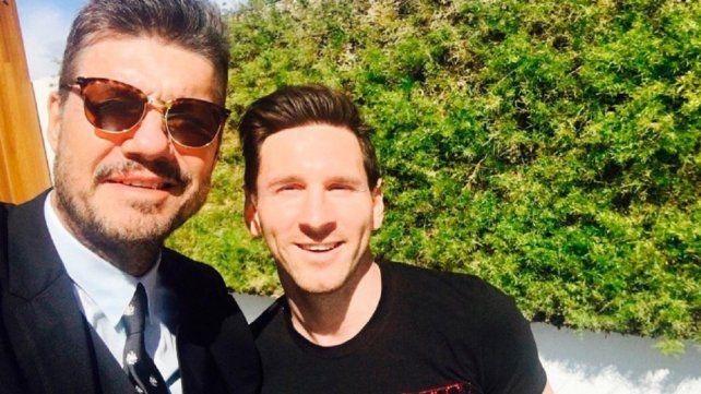 Marcelo Tinelli le dio un fuerte espaldarazo a Lionel Messi