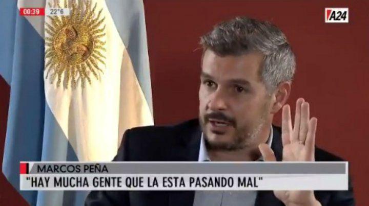 Marcos Peña: No creo que estemos ante un fracaso económico
