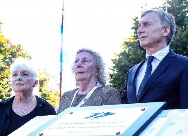 Macri dijo que el reclamo por la soberanía de Malvinas es legítimo e irrenunciable