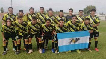 El equipo juega en una liga de Río Negro.