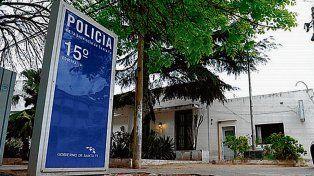 Comisaría 15ª. Jorge Messi fue trasladado a una dependencia policial.
