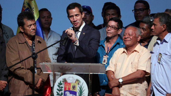 Pleno respaldo del Grupo de Lima a Guaidó y su accionar