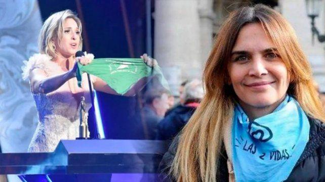 Amalia Granata salió con los tapones de punta contra Carla Peterson